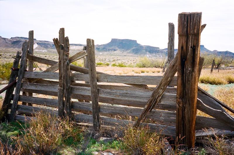 Fence, Castolon - Big Bend National Park, Texas