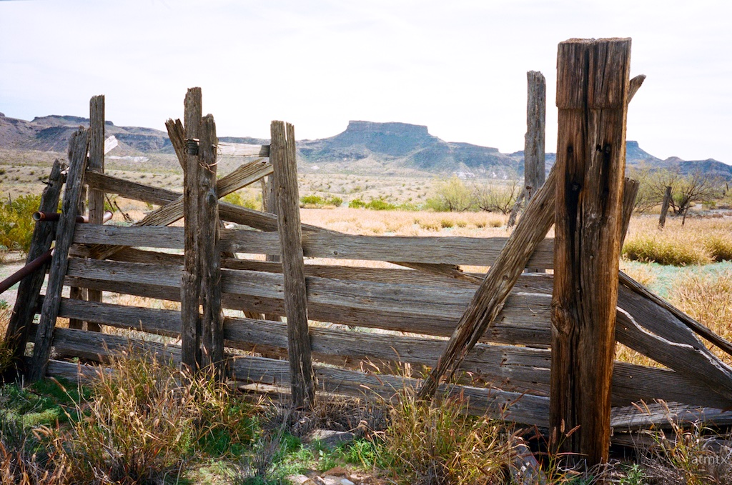 Fence, Castolon - Big Bend National Park, Texas