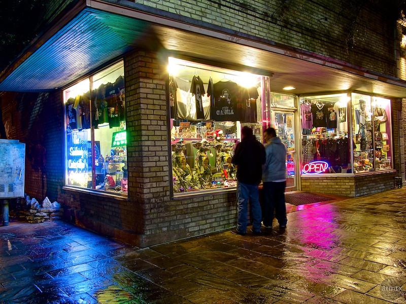 Curiosities for sale, 6th Street - Austin, Texas