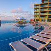 The sweep of the pool, Hard Rock Hotel - Cancun Mexico