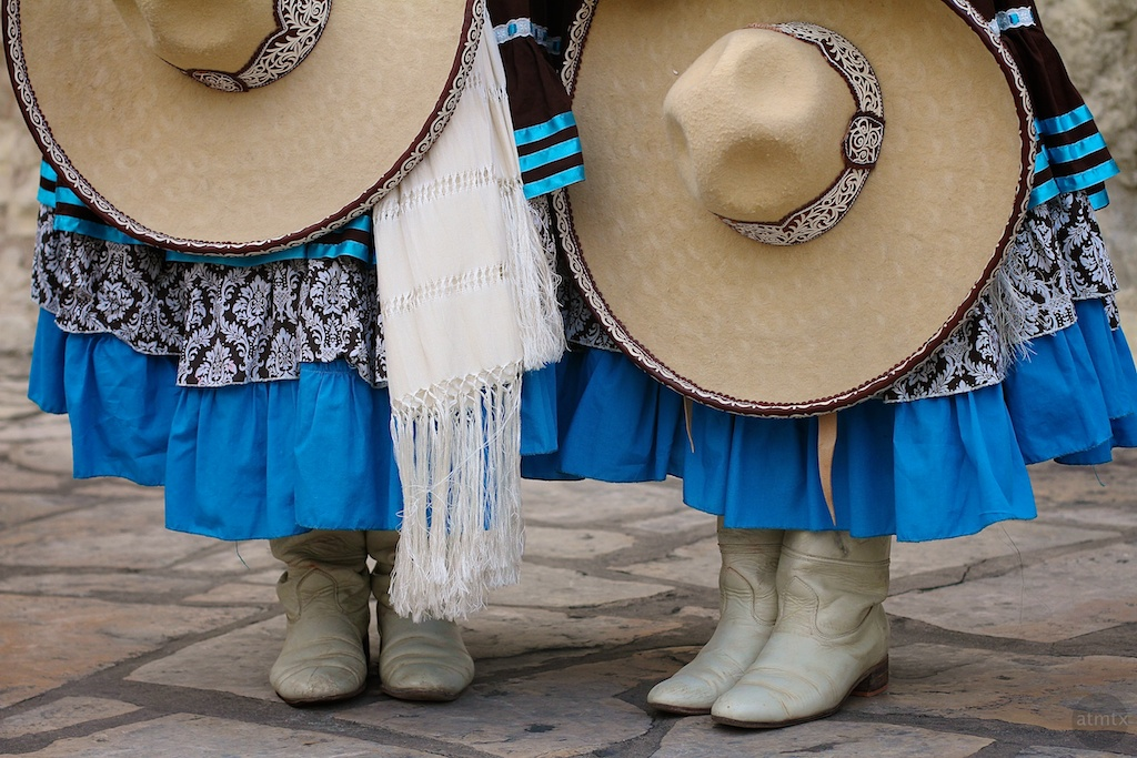 Hats and boots in San Antonio