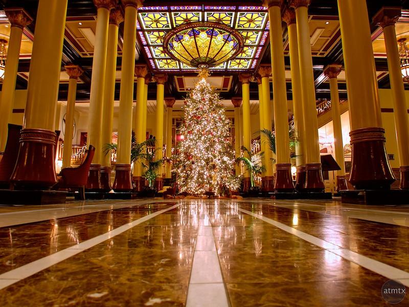 2012 Driskill Christmas Tree - Austin, Texas