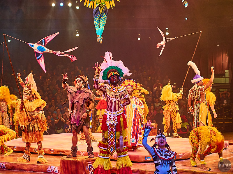 Festival of the Lion King, Disney World - Orlando, Florida