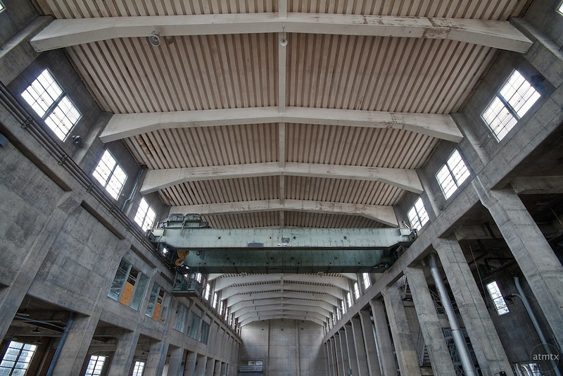 Seaholm Power Plant, Ceiling Detail - Austin, Texas