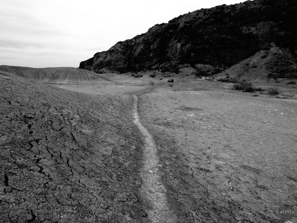 A path through an alien landscape - Big Bend, Texas