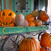 Pumpkins and Jack-o-lanterns - Smithville, Texas