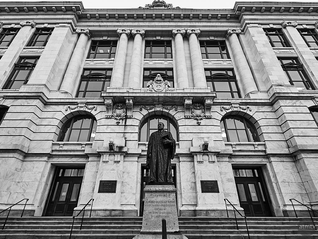 Facade, Court Building - New Orleans, Louisiana