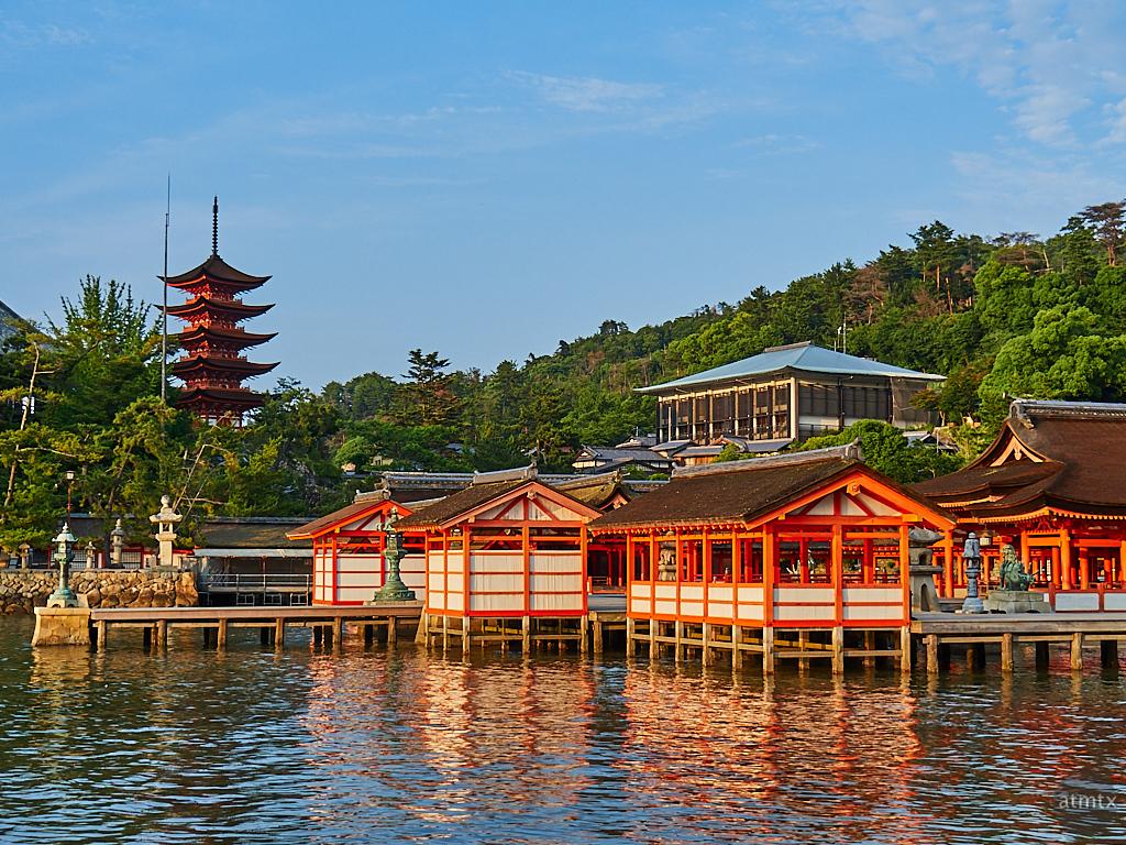 Itsukushima Shrine at Golden Hour - Miyajima, Japan
