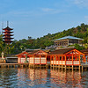 Itsukushima Shrine at Golden Hour - Miyajima, Japan