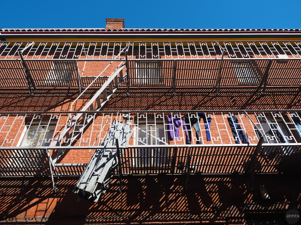 Chinatown Fire Escape #2 - San Francisco, California