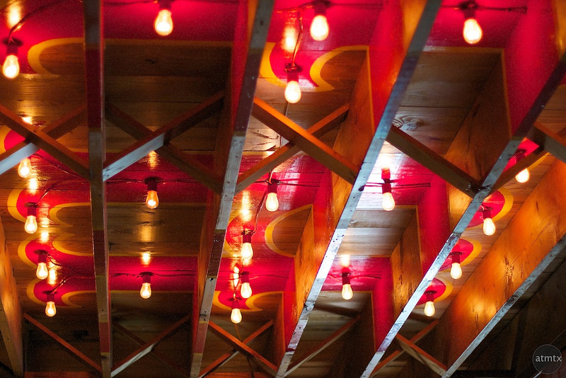 More Home Slice, Ceiling Detail - Austin, Texas