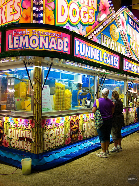 Colorful Food Stand, Rodeo Austin - Austin, Texas