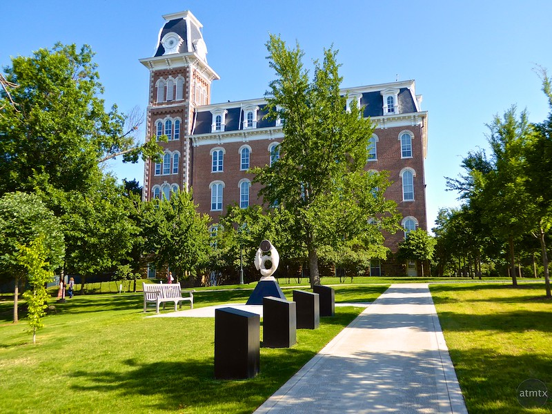 Old Main, University of Arkansas - Fayetteville, Arkansas