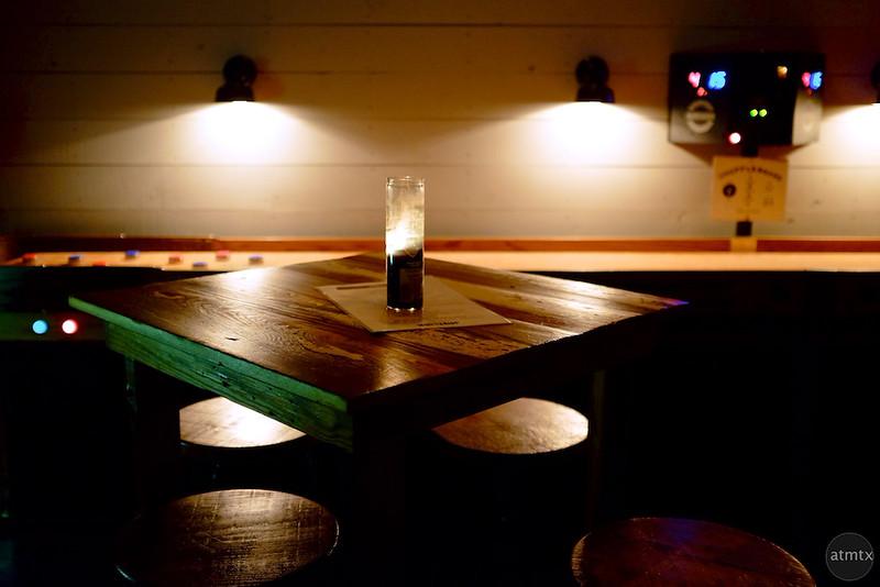 Moody Lights at the Javelina, Rainey Street - Austin, Texas