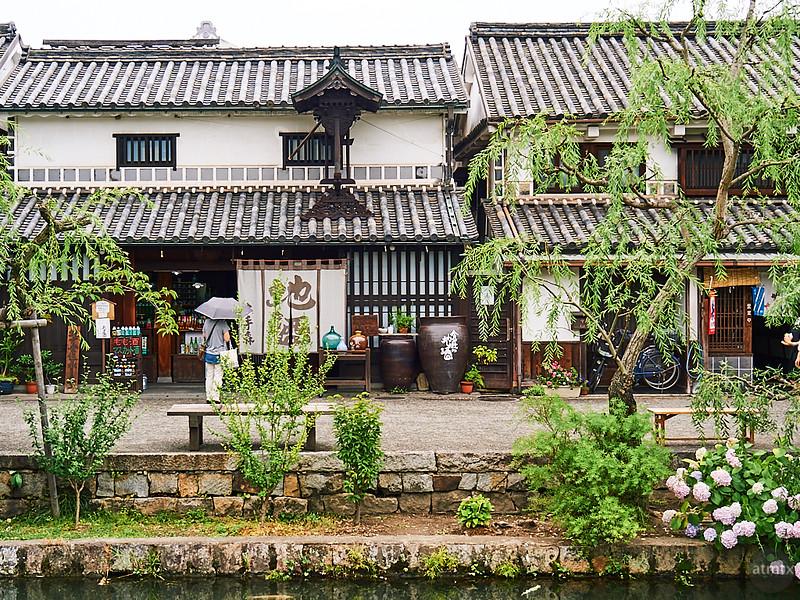 Streetscape, Bikan Historical Quarter - Kurashiki, Japan