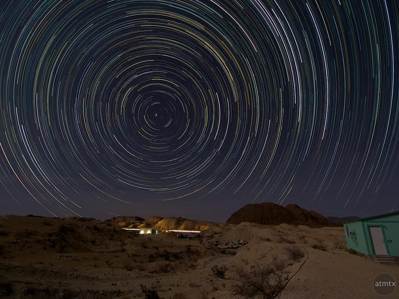 Star Trails - Terlingua, Texas