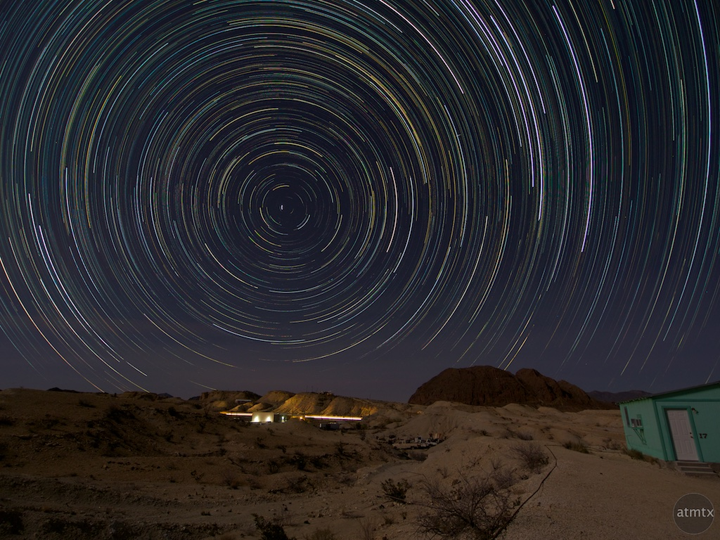 Star Trails - Terlingua, Texas