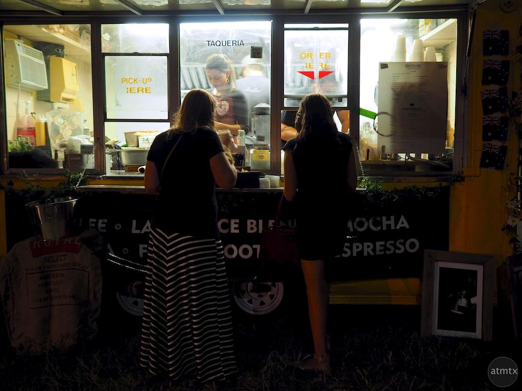 Taqueria Truck Ordering, SXSW 2015 - Austin, Texas