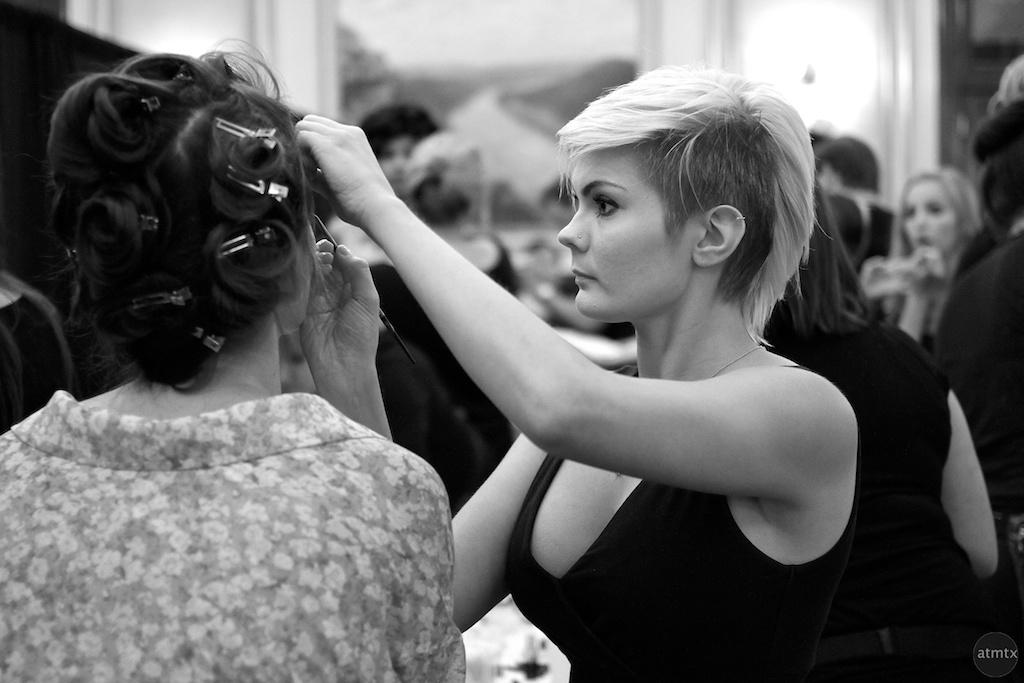 Behind the Scenes at Austin Fashion Week