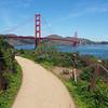 The Path to the Golden Gate Bridge - San Francisco, California