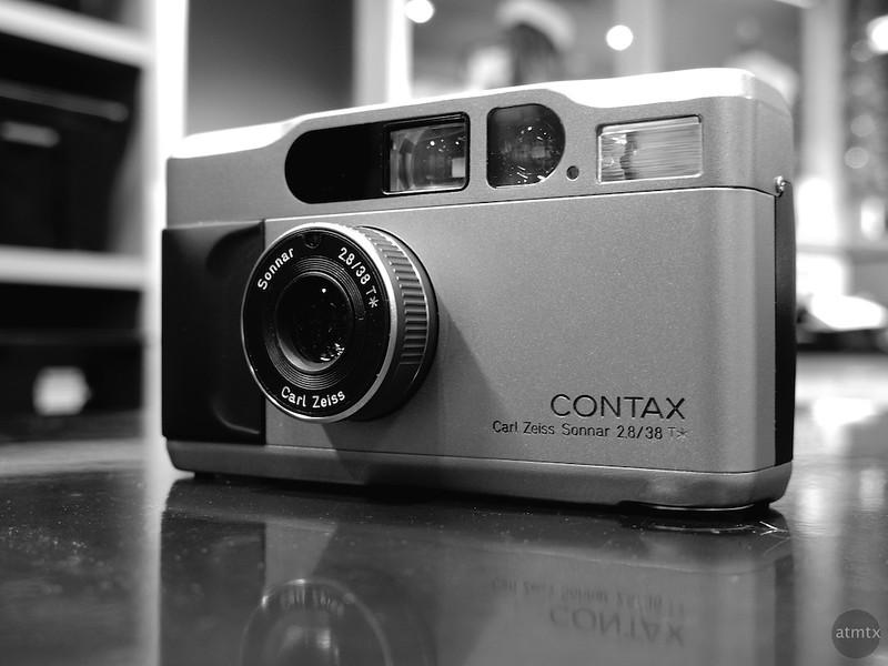 CONTAX T2 at Precision Camera - Austin, Texas