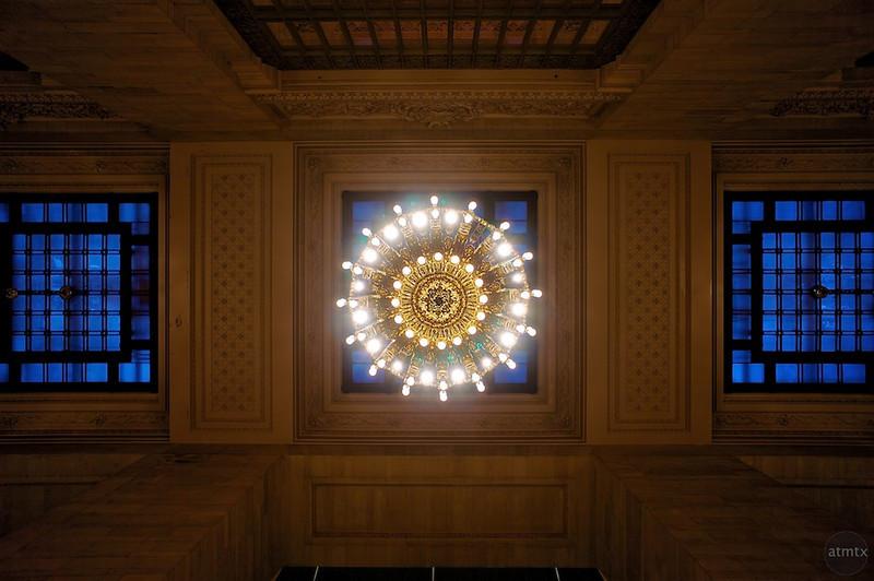 Chandelier, Grand Central Station - New York, New York