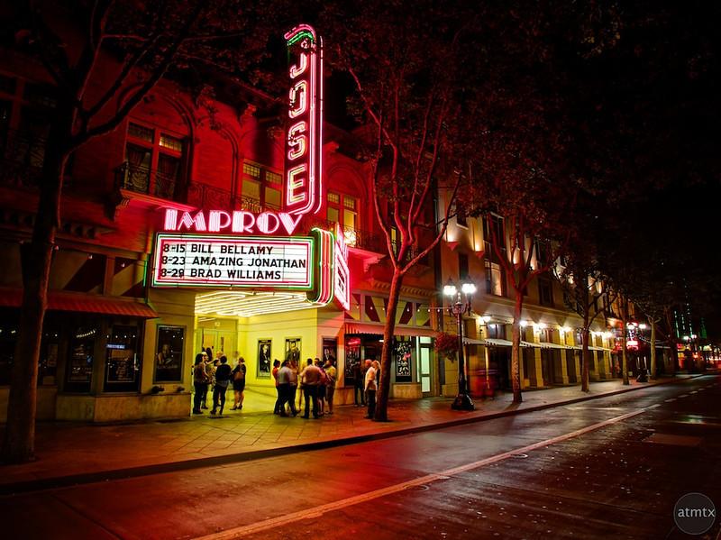 A night at the Improv - San Jose, California