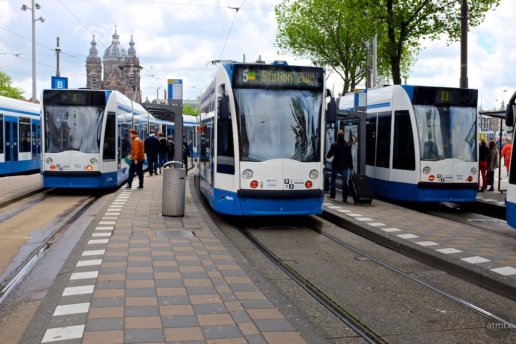 The Trams of Amsterdam #1 - Amsterdam, Netherlands