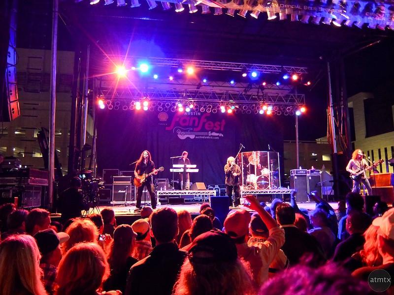 Foreigner Concert #1, Austin Fan Fest, Austin, Texas