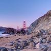 Golden Gate Bridge from Marshall's Beach - San Francisco, California