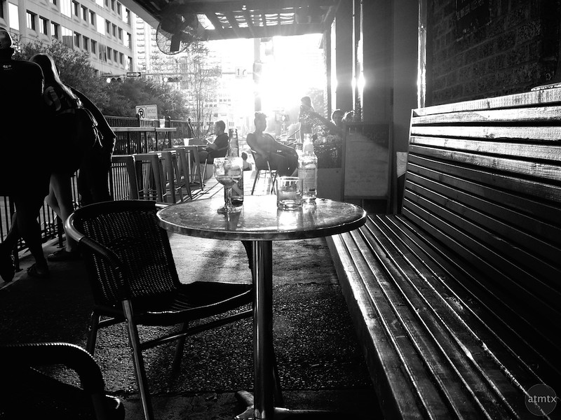 Evening Drinks, 4th Street - Austin, Texas