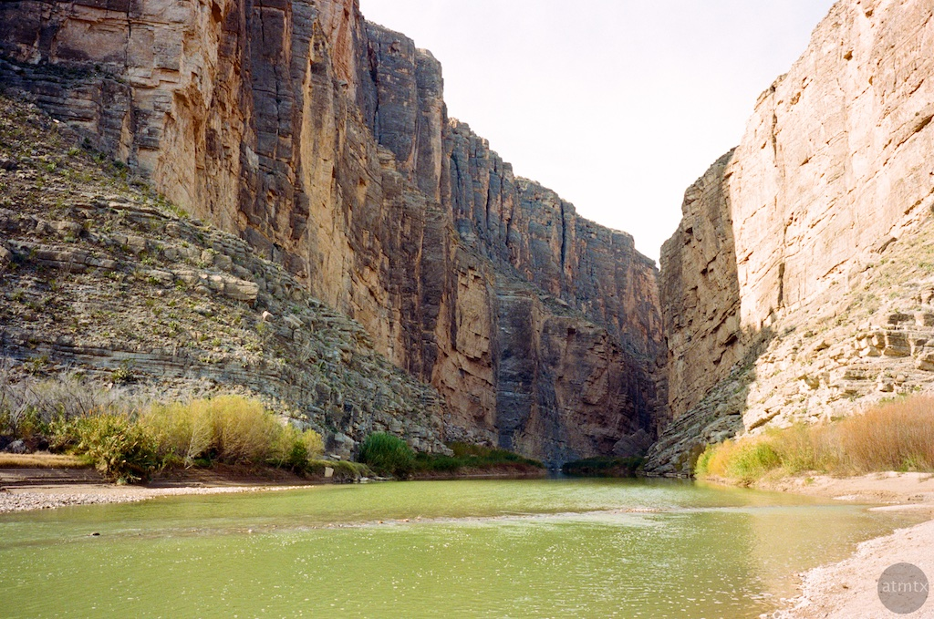 Rio Grande, Santa Elena Canyon - Big Bend National Park, Texas