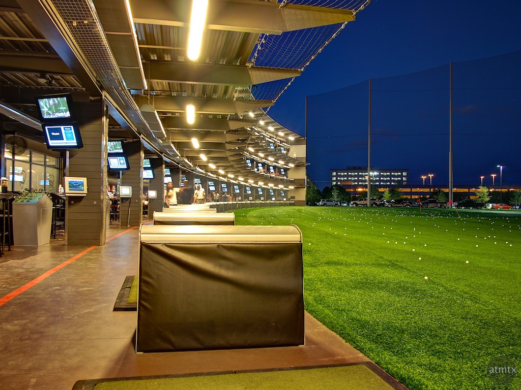 Driving Range, Top Golf - Austin, Texas
