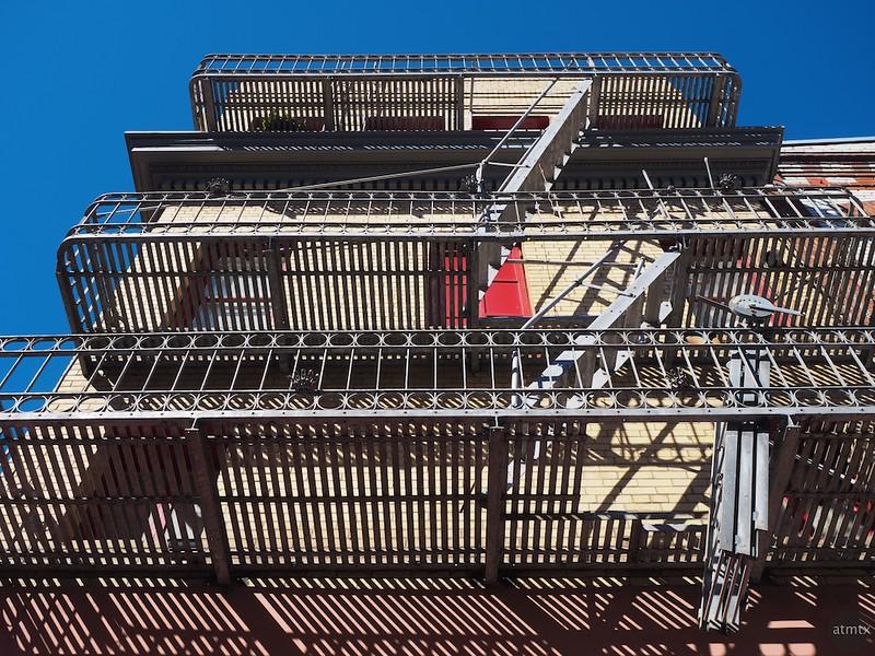 Chinatown Fire Escape #1 - San Francisco, California