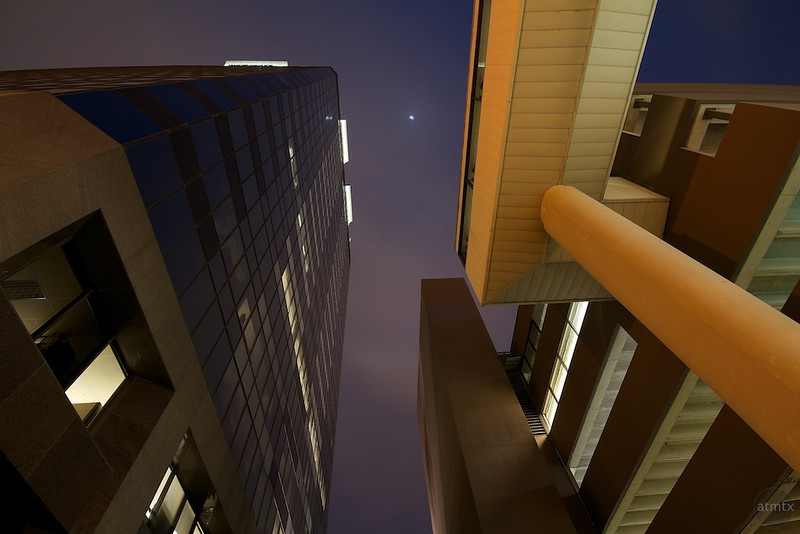 Chase Tower, Angles and Architecture - Austin, Texas