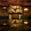 Longhorn Reflection, Driskill Bar Lounge - Austin, Texas