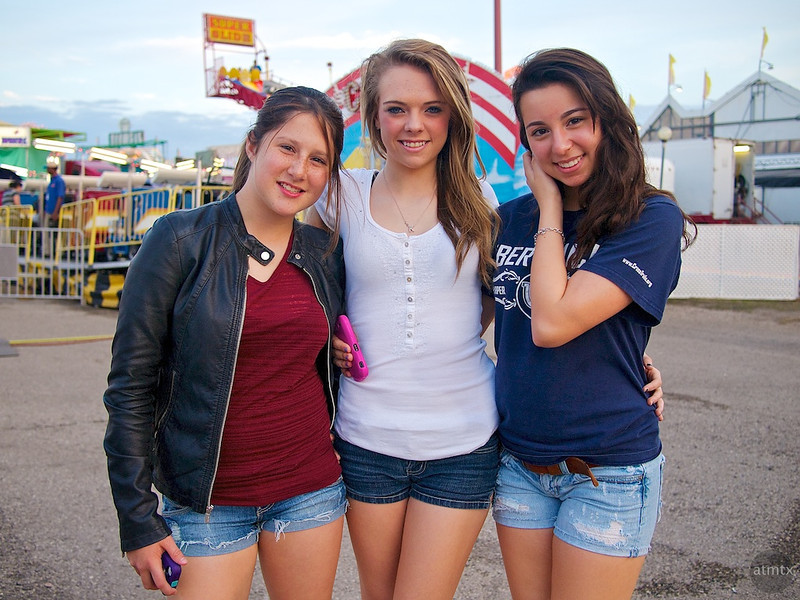 Ashley, Taylor and Rose, Rodeo Texas - Austin, Texas