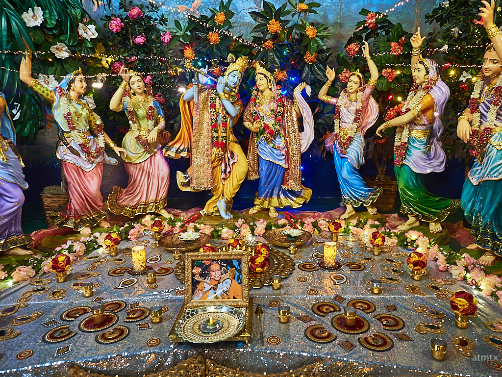 Krishna and the Gopis - Austin, Texas
