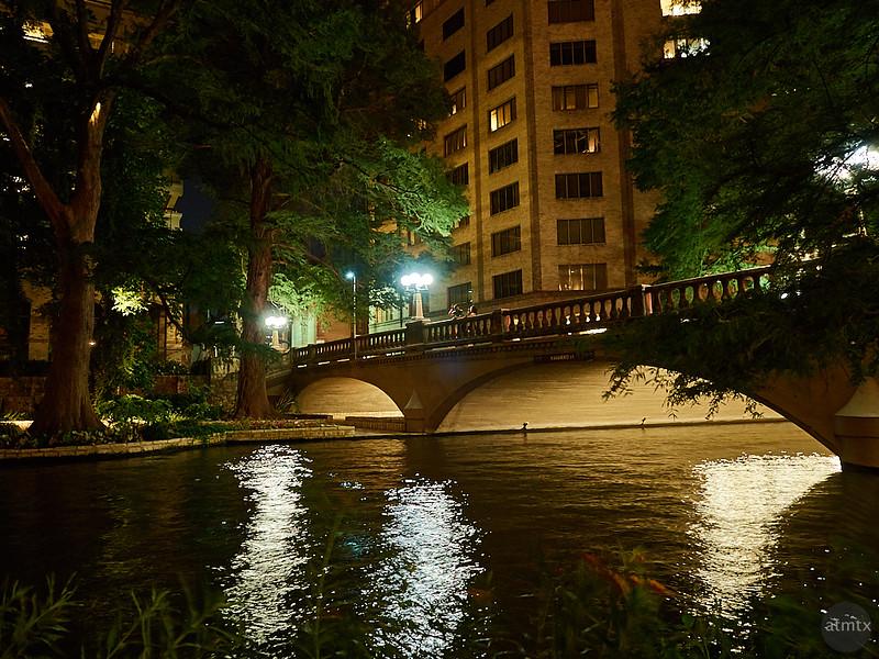 Riverwalk at Night - San Antonio, Texas
