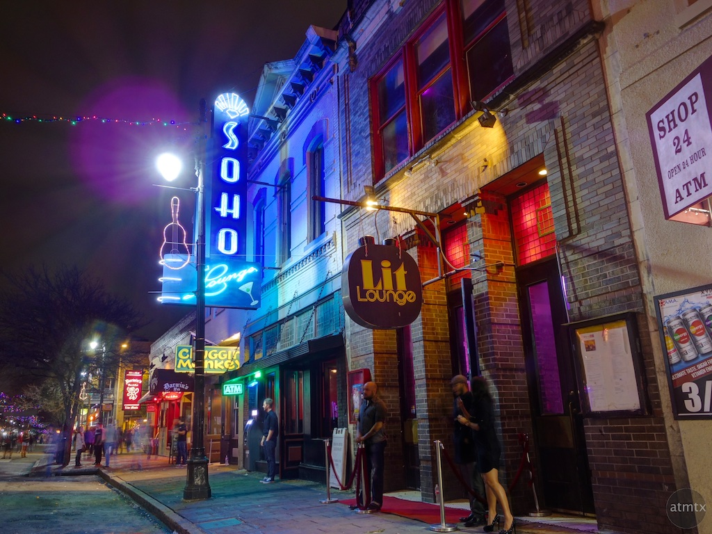 Soho and Lit Lounges, 6th Street - Austin, Texas
