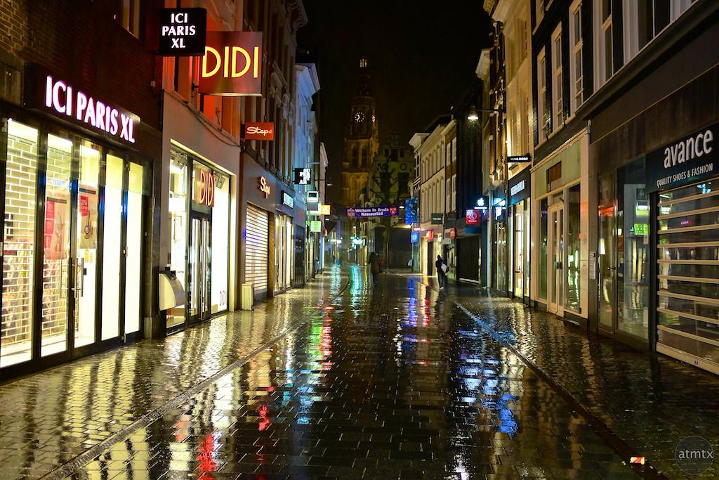 A shiny shopping street - Breda, Netherlands