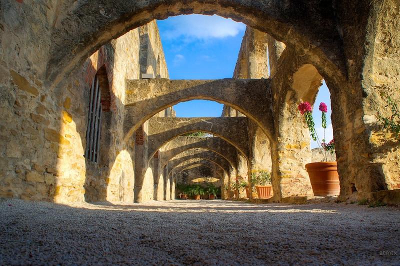 Arches of Mission San Jose - San Antonio, Texas