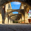 Arches of Mission San Jose - San Antonio, Texas