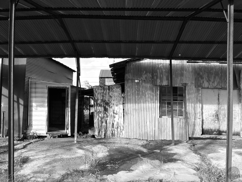 Incongruous Roofs - Giddings, Texas