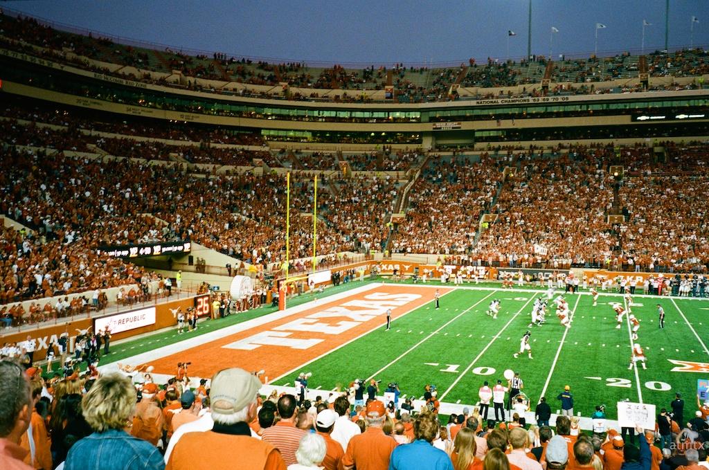 University of Texas Football - Austin, Texas