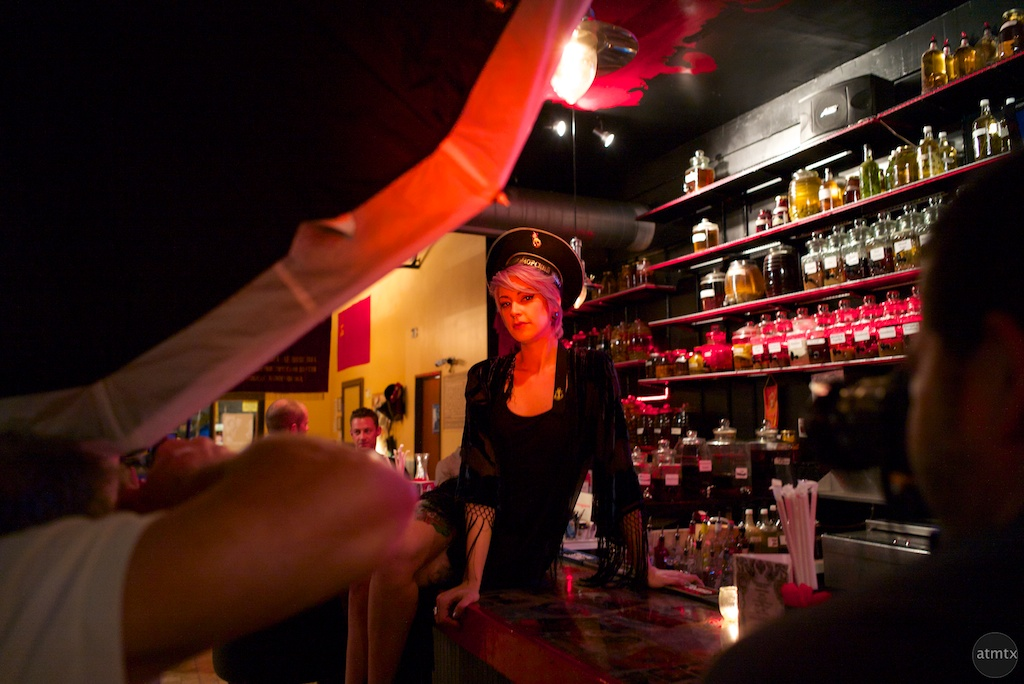 Model Shoot at Drink and Click, Russian House - Austin, Texas