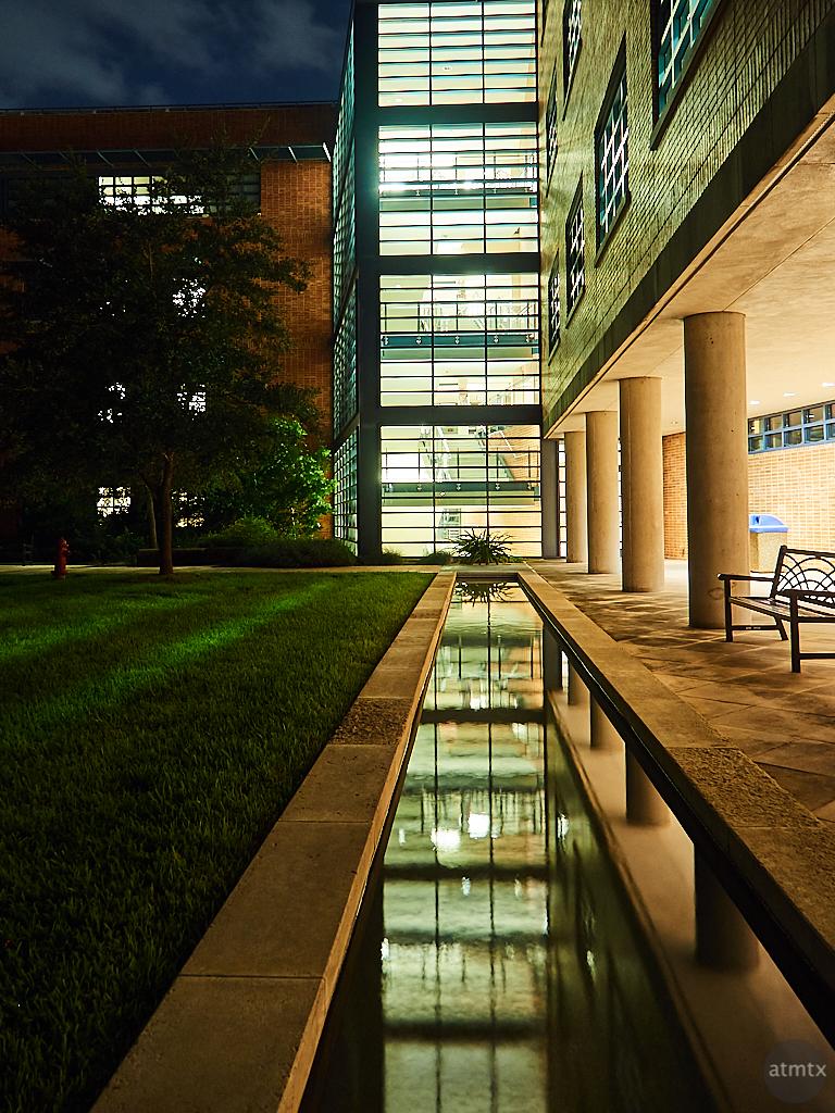 Reflecting Pool, Trinity University - San Antonio, Texas