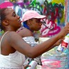 Creating Art, Graffiti Park - Austin, Texas