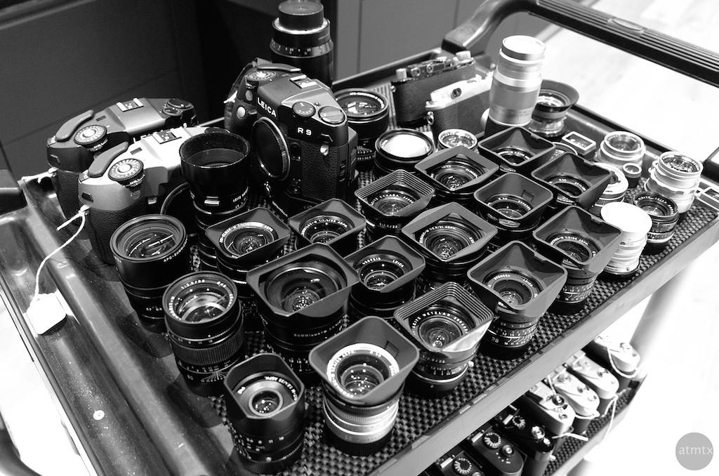Mostly Lenses, Leica Store - San Francisco, California