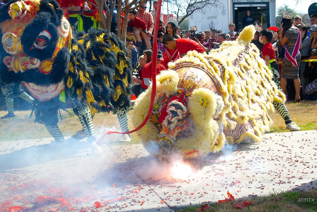 Lion Dance #2, 2014 Chinese New Year Celebration - Austin, Texas